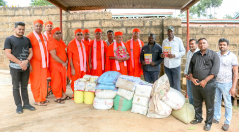 Charity work in Meru by Swaminarayan Gadi Temple - Nairobi 2020