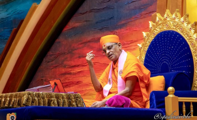 Acharya Swamishree Maharaj's Ashirwad 2nd December 2018