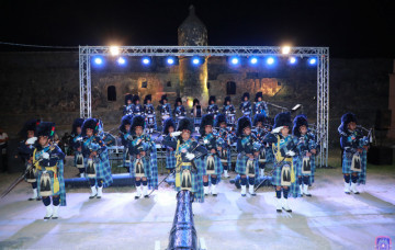 Fort Jesus Tattoo - Shree Muktajeevan Swamibapa Pipe Band Nairobi 21st Feb 2020