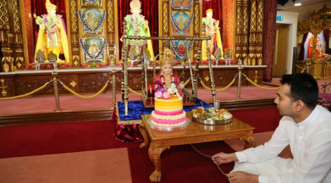 Shree Swaminarayan Jayanti Celebrations at Shree Swaminarayan Temple Bolton