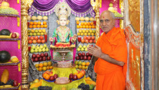 Fresh Fruit Utsav at Shree Swaminarayan Mandir Maninagardham