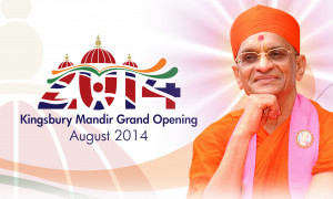 Kingsbury Mandir Grand Opening