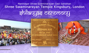 Shilanyas Ceremony - Shree Swaminarayan Temple Kingsbury, London