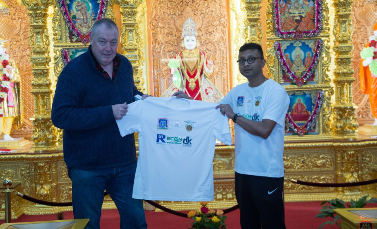 Cricket Marathon at Shree Swaminarayan Mandir raises funds to mark important anniversaries