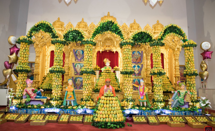 Amrotsav at Shree Swaminarayan Mandir, Kingsbury