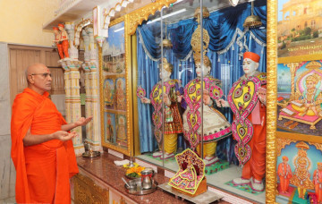 Shree Swaminarayan Mandir Mount Abu - 29th Patotsav